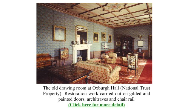 Jo Green Gilding And Traditional Finishes Period Interiors